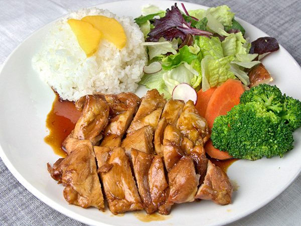 Chicken Teriyaki Platter