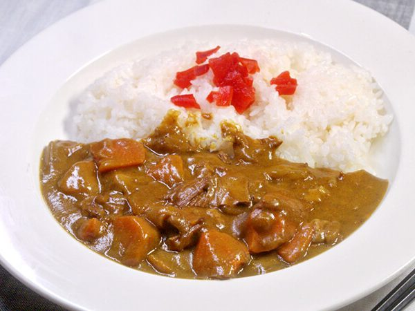 Curry Rice Platter