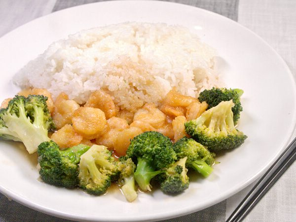 Shrimp with Broccoli