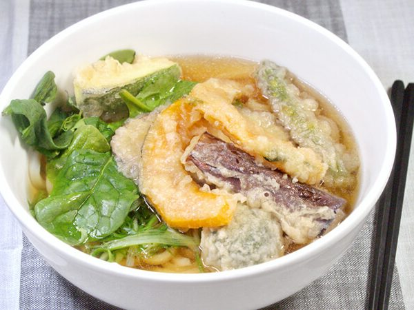 Vegetable Tempura Noodle Soup